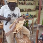 Making carvings for over 40 years