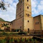 Kasbah tower.