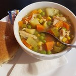 Homemade soup!!! Amazing!!!