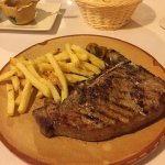 Chuleton, perfectly cooked.