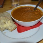 Parsnip Paprika Cumin and Coriander Soup with Homemade Bread