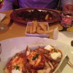 Delicious, lamb dish is the AZ special, the other is chicken iskender
