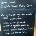 dessert board a