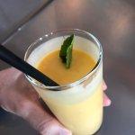 Yummy mango lassi
