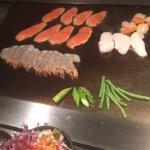 Sea food set menu
