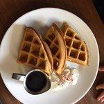 kids menu waffles