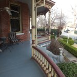 The porch at The Empress