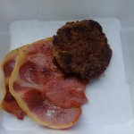 Sides - country ham and apple sage sausage patty