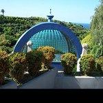 Los Jardines de Panrico en Luarca .  Una visita obligada si vas a comer a Casa Consuelo