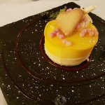 The Mango and Passion fruit moose