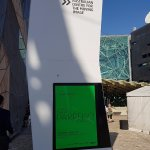 Easy to find signage at Federation Square