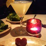 Upstairs Restaurant Lemon Drop Martini