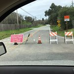 Tried going to see the park but road is closed - I called and they said it could be months to fi