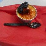 Vanilla Berry Creme Brulee