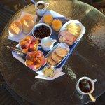 La cabaña et le petit-déjeuner