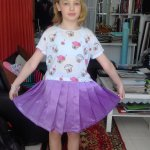 Baby Skirt & Top Fitting (Shyam Tailor House)