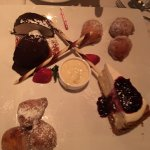 Desert plate for the table - Chocolate something AWESOME, cheese cake and..