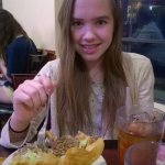 "My daughter says: ""This Mexican food is REALLY GOOD!"""