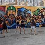 Dance club - streets of Santiago