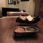 麵包籃和醬汁