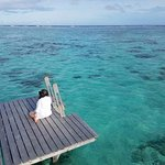 Meditation on the lower deck (which is also perfect for snorkeling)