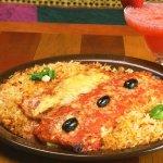 Enchiladas & Spanish Rice