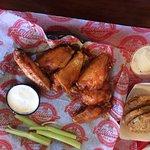 Fried sweet heat wings!