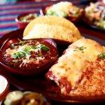Enchiladas, Chilli Con Carne & tacos