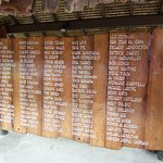 Star-studded line-up of famous visitors to Bloody Mary's bar on Bora Bora.