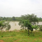 Betwa river from balcony of the room