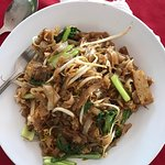Chicken salad (RM 12) and small Fried Kway Teow (RM 6). Both very good!