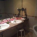 Doppelzimmer Katharinenplaisir Badezimmer mit Badewanne