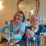 My 96 yr old Mum and me