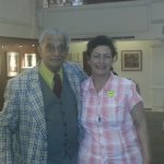 Self and Gupta ( frequent visitor to hotel)