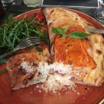 Calzone - Ham and Goat's Cheese