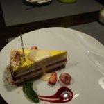 Десерт Сырный пирог. Красиво и вкусно.