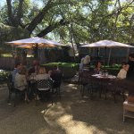 Anchuca's courtyard is a great place for Sunday brunch.