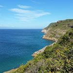 Looking down Robberg from a picnic site.