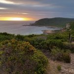 Stunning views from the end of the trail, just in time for sundowners on the deck.