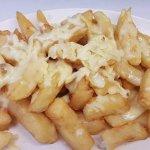 cheesy chips £2