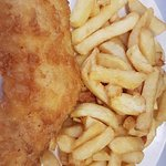 small cod or haddock with chips £3.95