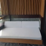 Deluxe Seaview Room: Day bed in the terrace
