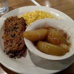 Meatloaf, corn, apples - Feb 2017