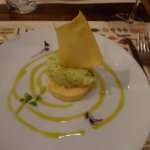 Baccala and polenta