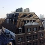 View from 6th floor of NH Carlton Amsterdam