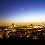 THE VIENNA GIANT FERRIS WHEEL-panoramic view
