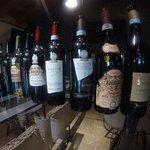 A great wine menu