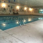 the lap Pool at the Millenium Harvest house, indoor pool