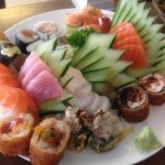 Sushi e Sashimi variados