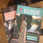 Guide of museum and temporary exhibit